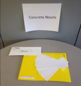Concrete Noun Station