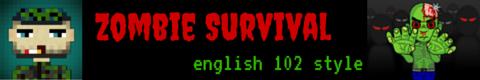 Zombie Survival Banner