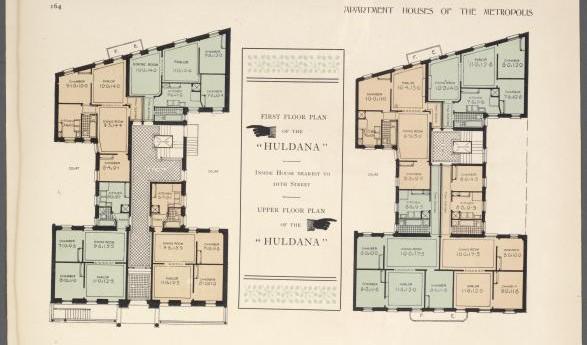 Floor Plan 1900s