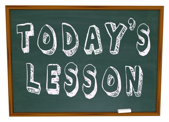The 4 Step Lesson Plan